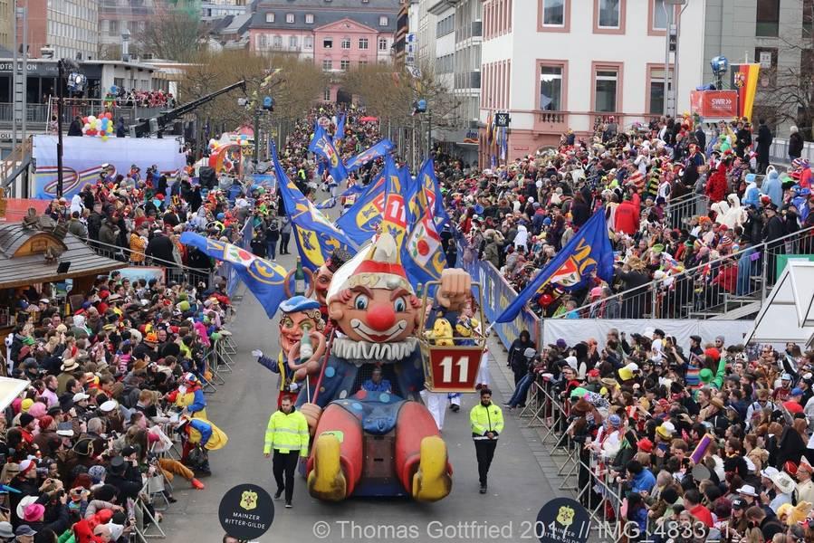 Rosenmontagszug Mainz 2019